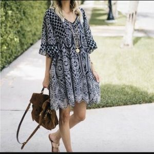 Anthropologie Akemi +Kin Brooke Swing Dress size 8